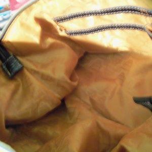 Kathy Van Zeeland Bags - Navy Cotton/Poly Twill Satchel